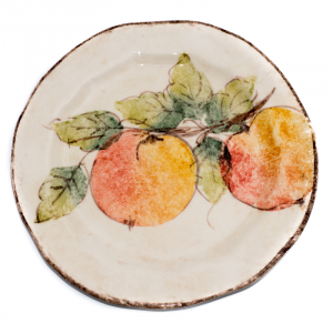 Тарелка для салата Персики