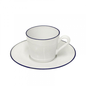 Чашки с блюдцами для кофе, набор 6 шт. Beja