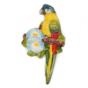 """Декор настенный """"Желтый попугай"""""""