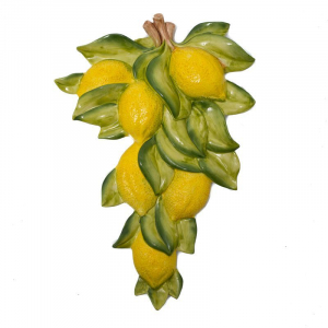 Декор керамический настенный Лимон