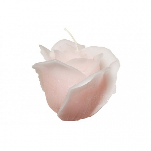 Свеча-роза розовая