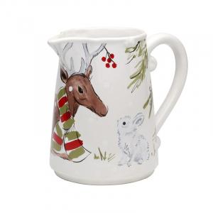 Кувшин белый Deer Friends Casafina