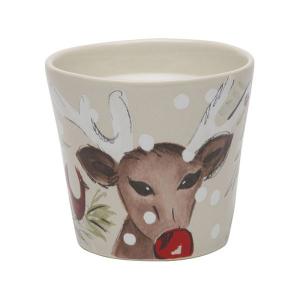 Свеча в стакане из керамики Deer Friends Casafina