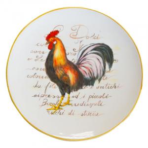Декоративная и подставная тарелка для пасхального стола «Золотое крылышко»