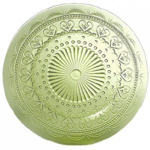 Тарелка обеденная зеленая