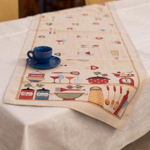 """Раннер """"Кухонные мелочи"""" Villa Grazia Premium"""