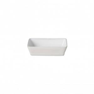 Блюдо прямоугольное белое Friso