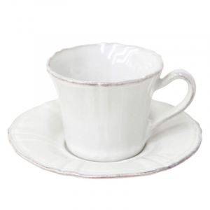 Чайная чашка с блюдцем Village