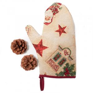 """Прихватка рукавичка """"Новогодние огоньки"""""""