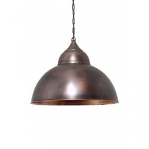 Подвесная лампа состаренная медь