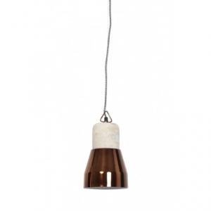 Подвесной светильник с металлическим плафоном
