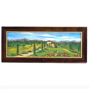 "Набор из 2-х картин ""Пейзаж Тосканы"""