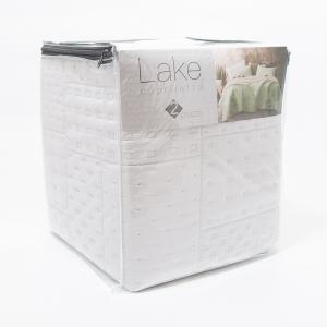 Покрывало Centrotex Lake Cube Quilt 260×260 см светло-голубое