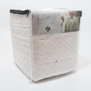 Покрывало Centrotex Lake Cube Quilt 260×260 см натуральное