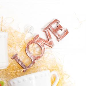 Романтический декор-подставка Love