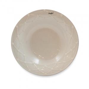 Тарелка для супа Nova Meridian белая 23 см