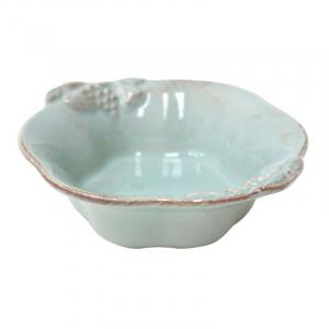 Набор глубоких керамических мисок 6 шт. из голубой коллекции Mediterranea