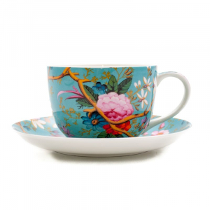 Чашка с блюдцем Victorian Garden