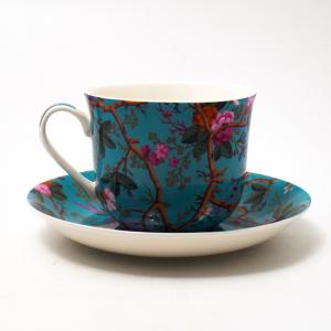 Чашка с блюдцем 480 мл Victorian Garden