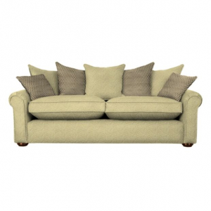 Диван двухместный Newark Pillow Scott Co-ordinate Gold