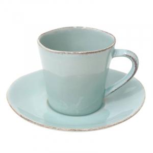 Чашки с блюдцем для кофе Nova, набор 6 шт.