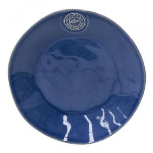 Синие десертные тарелки, набор 6 шт. Nova
