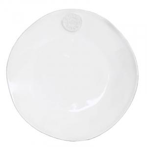 Белые тарелки, набор 6 шт. Nova