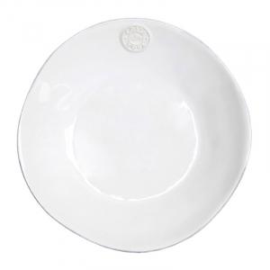 Белая тарелка для супа Nova