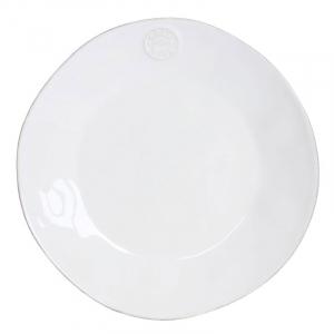 Белая обеденная тарелка Nova