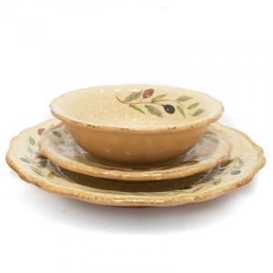 "Набор из трех тарелок ""Маслины"""