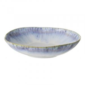Тарелка для салата Costa Nova Brisa синяя 23 см