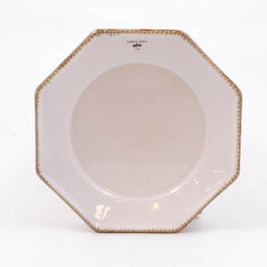 Тарелка для салата Costa Nova Luzia белая 21 см