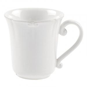 Изящная белая чашка из коллекции огнеупорной керамики Barroco