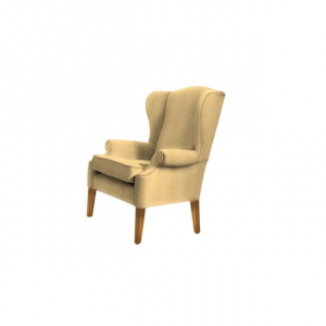 Кресло Regency Azue Plain Gold