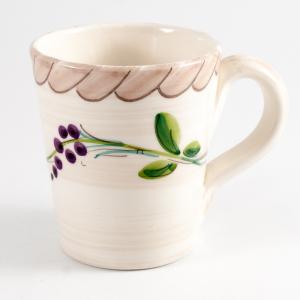 "Чашка ""Клубника и виноград"""