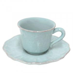 Чашки с блюдцем для кофе, набор 6 шт. Impressions