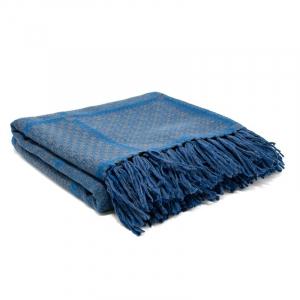 Плед Shingora Chequered Blues 130×180 см синий