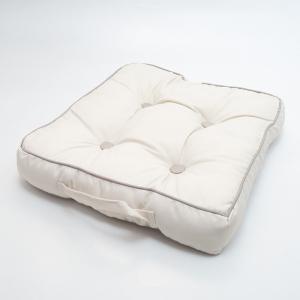 Подушка для стула Centrotex Shine слоновая кость/бежевая