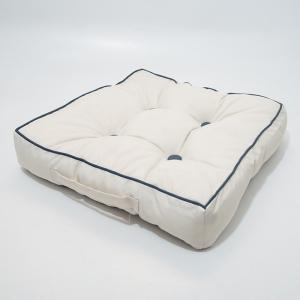 Подушка для стула Centrotex Shine слоновая кость/синяя