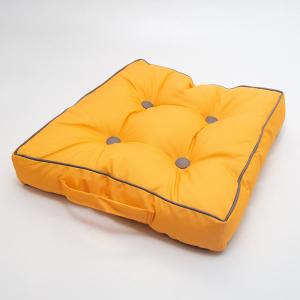 Подушка для стула Centrotex Shine желтая/серая