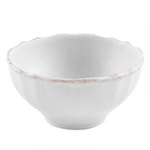 Белая пиала из прочной огнеупорной керамики Impressions