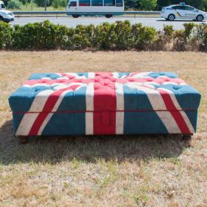 "Пуф ""Флаг Великобритании"""