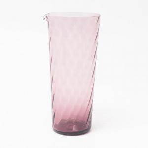 Кувшин стеклянный розовый Torson