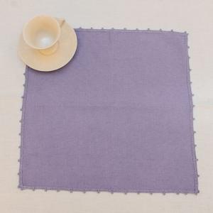 Салфетка фиолетовая квадратная Busatti