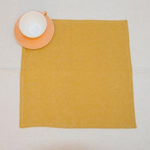 Салфетка оранжевая квадратная Busatti