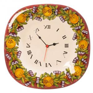 Часы керамические настенные Melograno