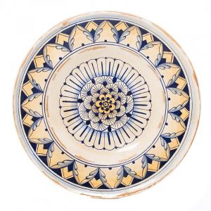 Тарелка настенная круглая Geometric