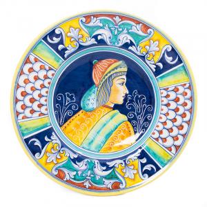 Настенная тарелка из итальянской керамики Museo Plate