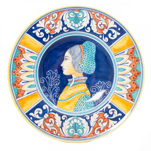 Декоративная тарелка из керамики Museo Plate