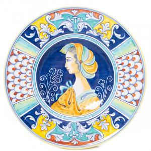 Тарелка настенная круглая Museo Plate